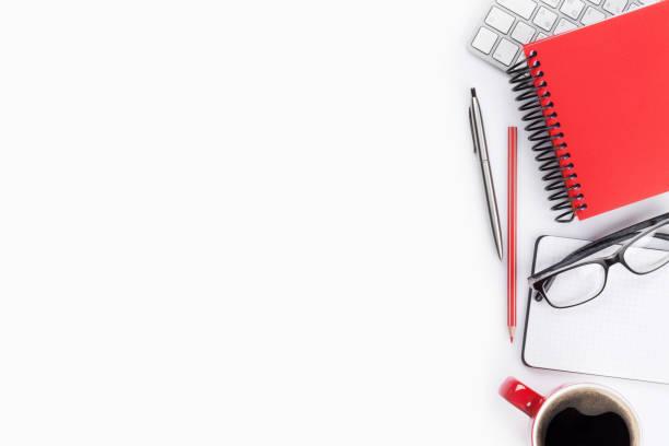 office skrivbord - linjerat papper bakgrund bildbanksfoton och bilder