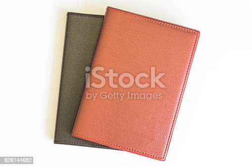 621843818 istock photo Office desk top view with book 626144682