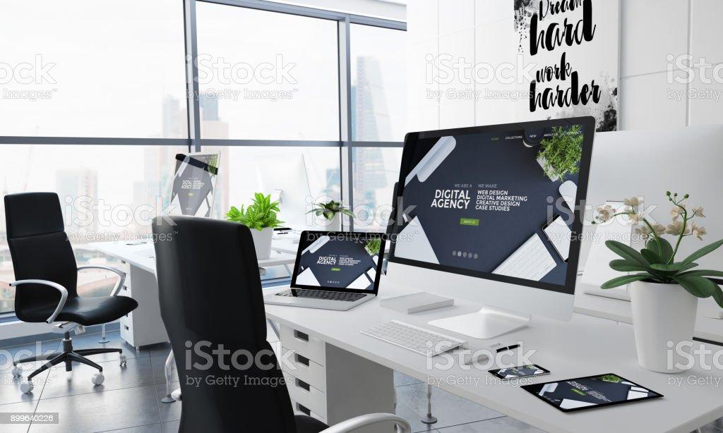 Office Desktop-Digitalagentur – Foto