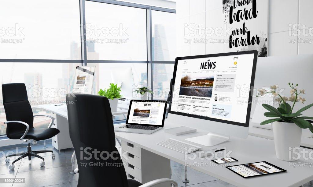 Office-Desktop-news – Foto