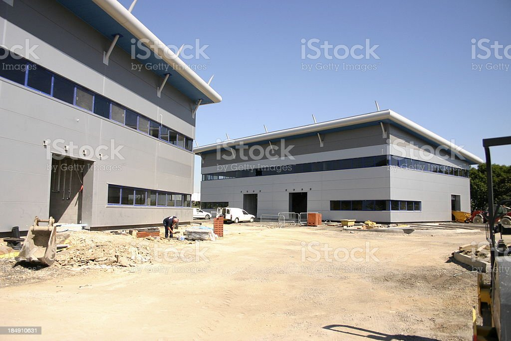 Office Development stock photo