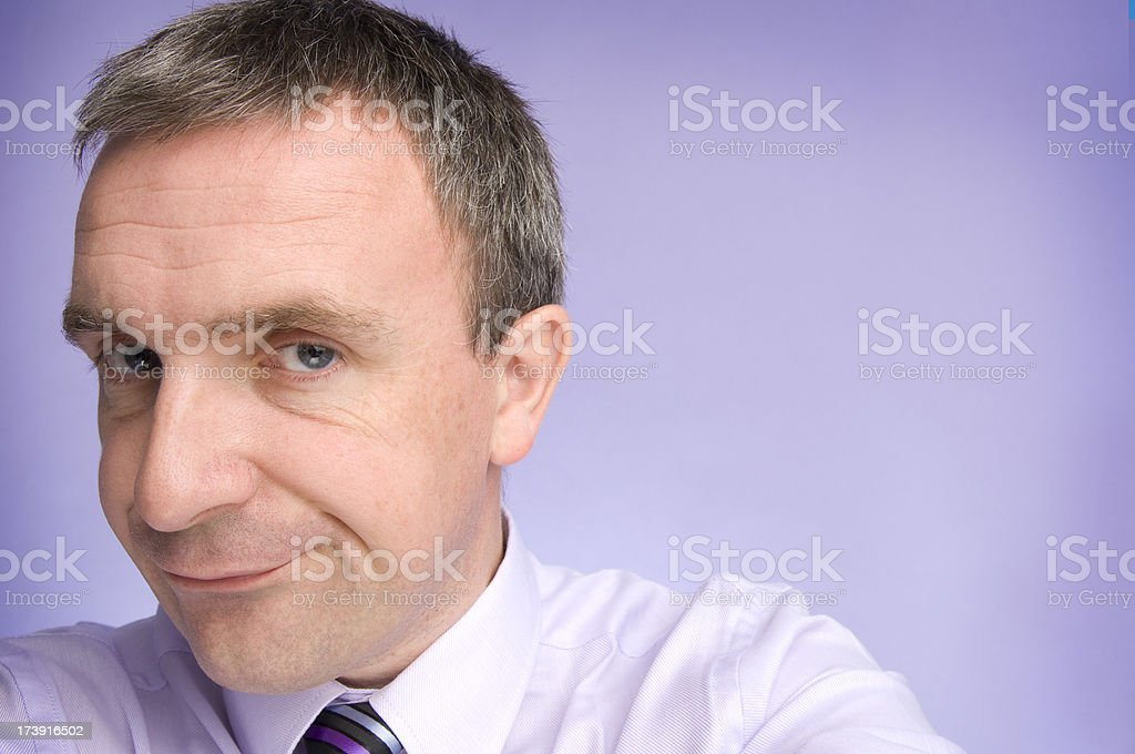 office disbeliever royalty-free stock photo