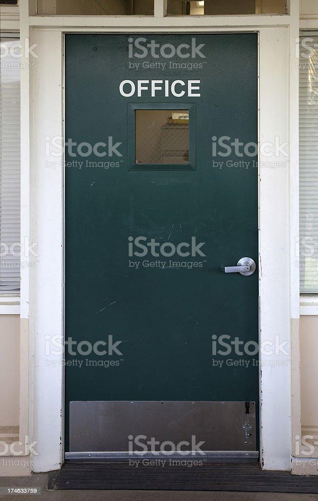 Office Door royalty-free stock photo