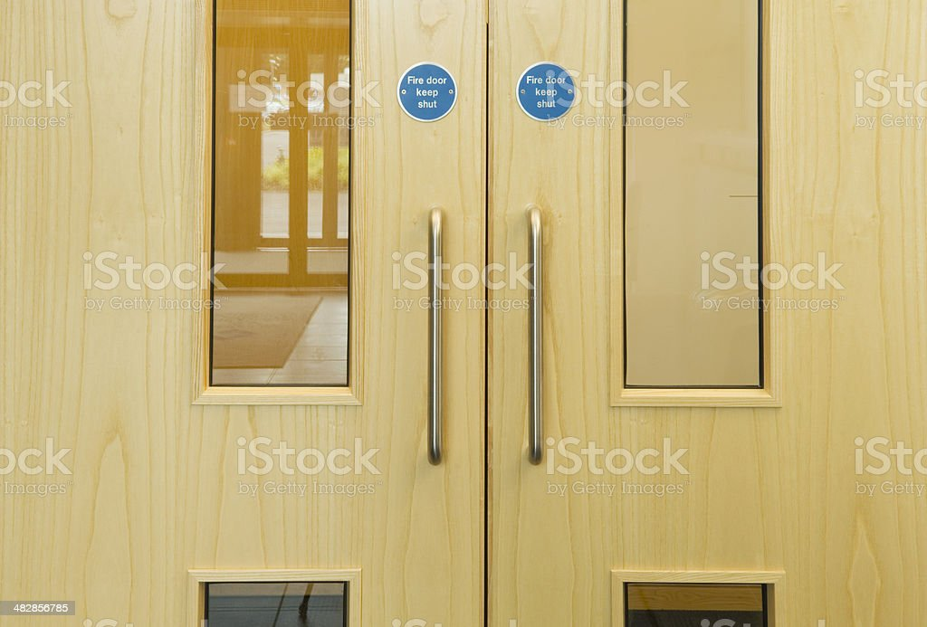 Office doors royalty-free stock photo