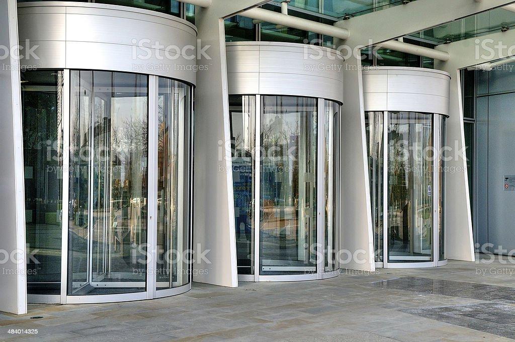 Büro-Eingang – Foto