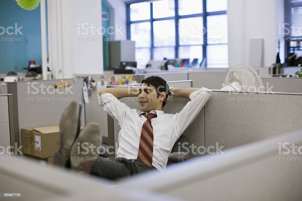 Office Environment in a diverse office royalty free stockfoto