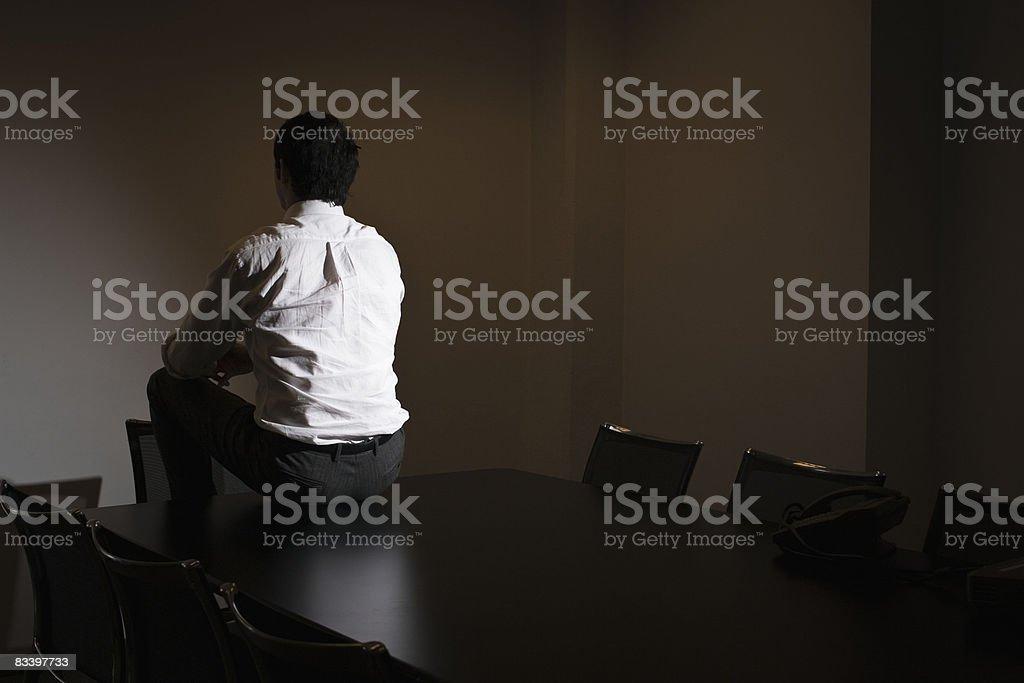 Ambiente di lavoro in un ufficio diversi foto stock royalty-free