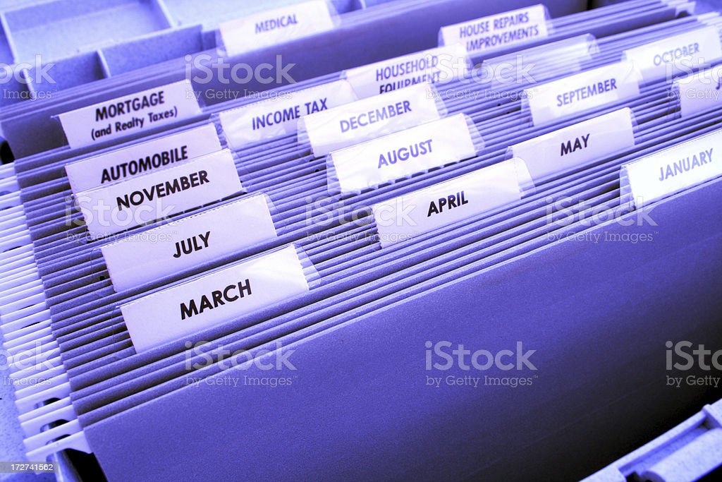 Office File Folder stock photo