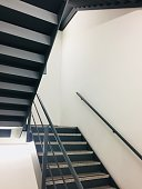 istock Office Fire exit stairs 1031979248