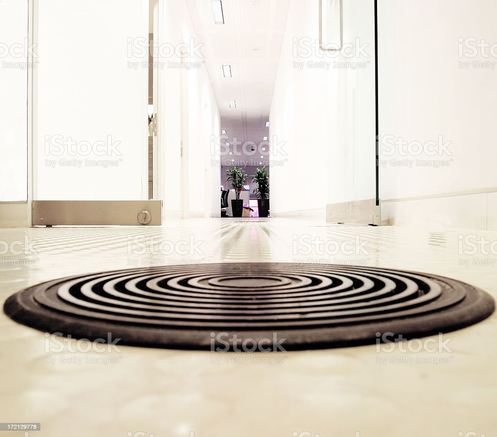 Office floor royalty-free stock photo