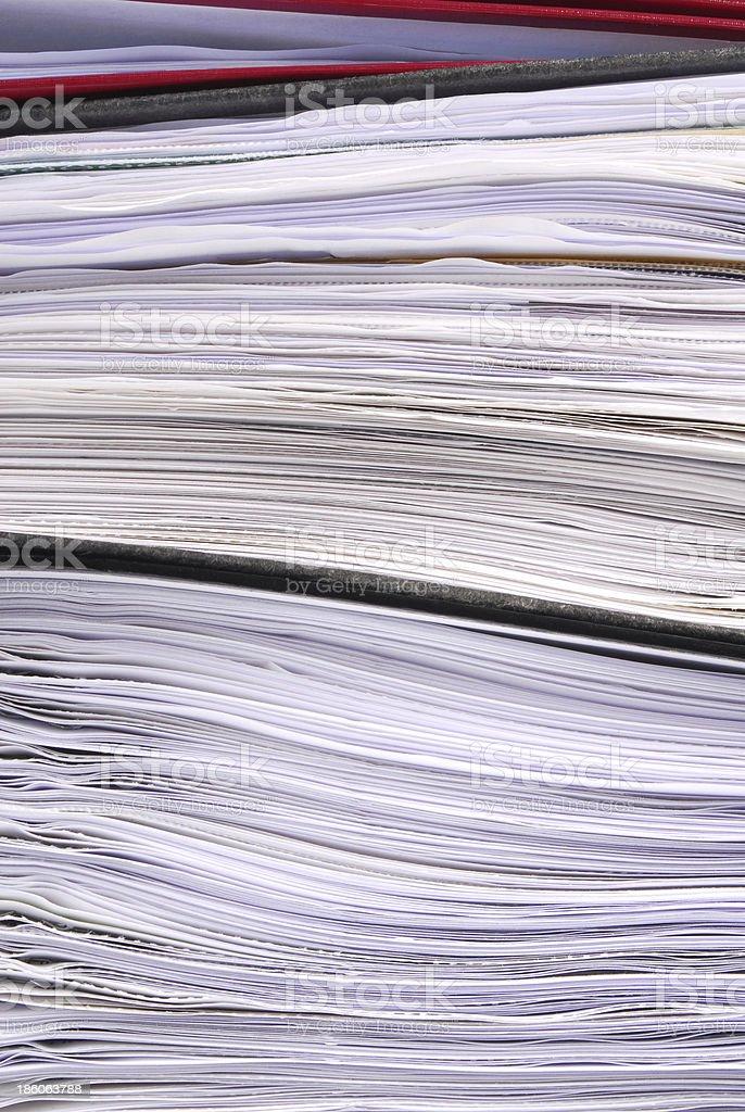 office folders paper texture macro royalty-free stock photo