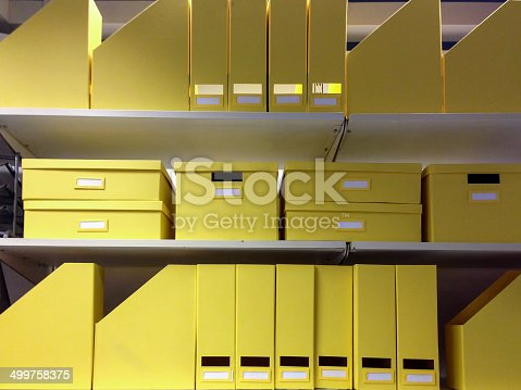 istock Office folders 499758375