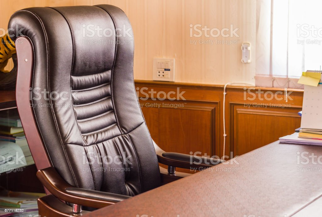 Office for boss stock photo