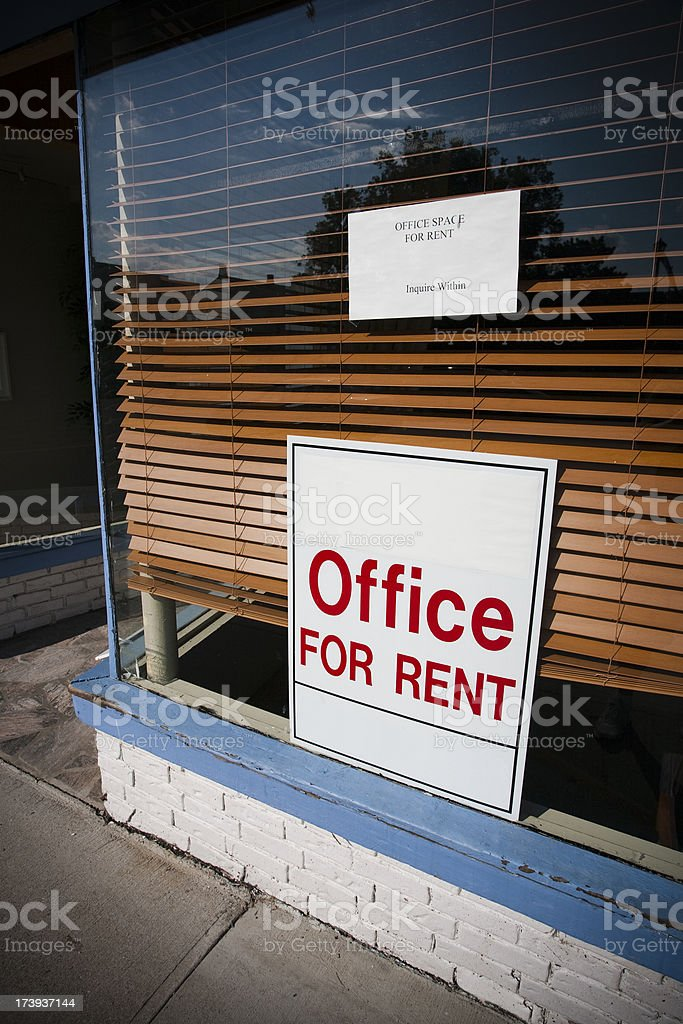 Office for rent royalty-free stock photo