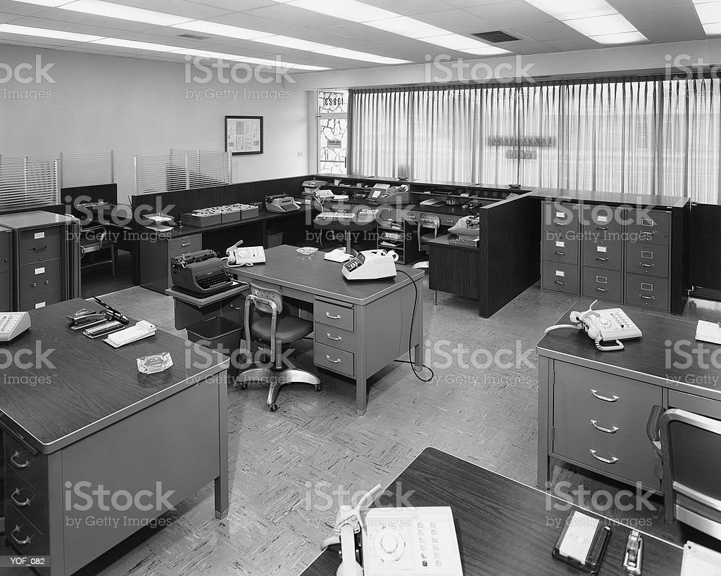 Office furniture royalty free stockfoto