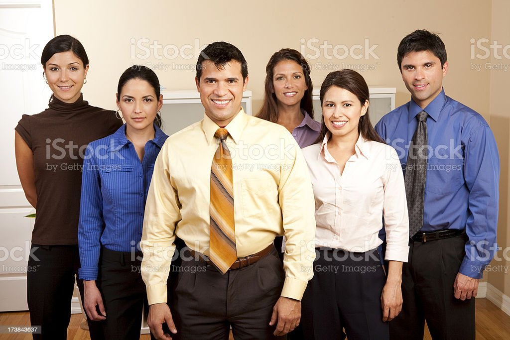 Office Group royalty-free stock photo