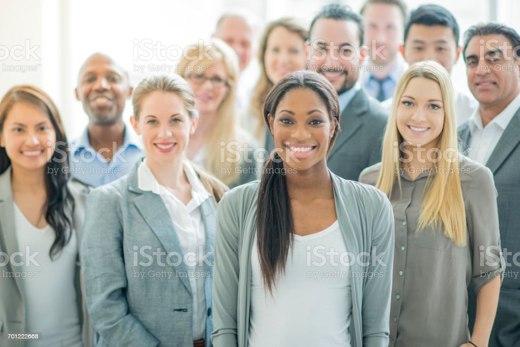 Office Group stock photo