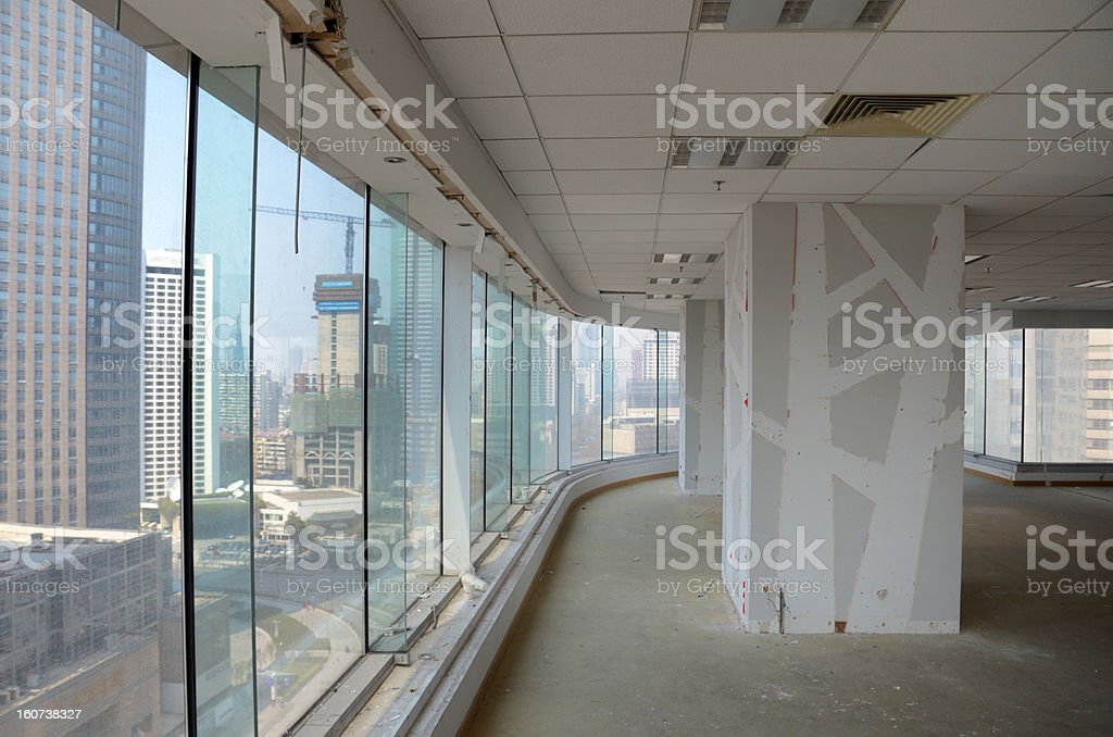 Office improvement in China stock photo