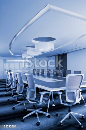 Modern Office Meeting Room. See The Entire Blue Spaces Collection Here: