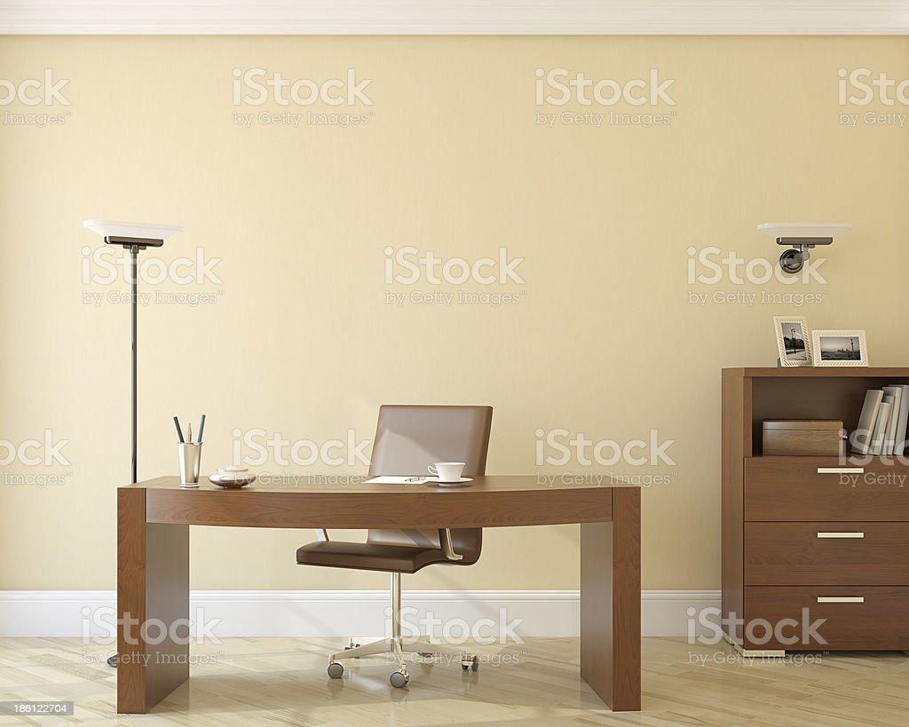 Office interior. stock photo
