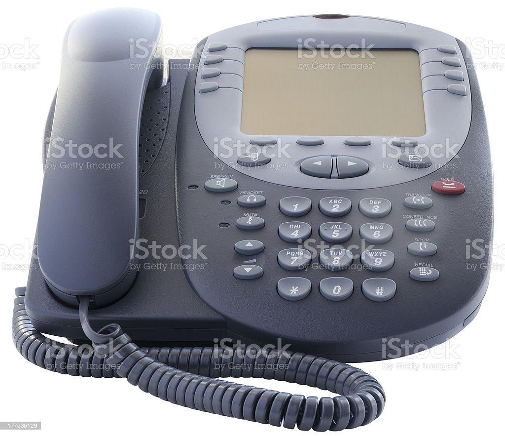 Office IP telephone royalty-free stock photo