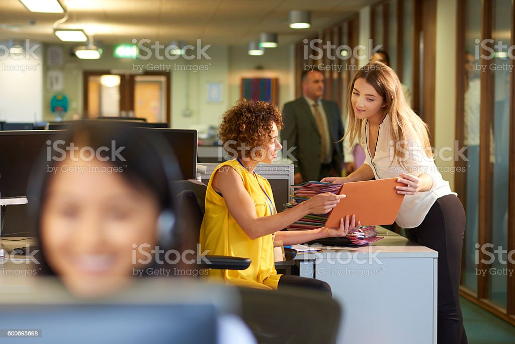 office junior stock photo