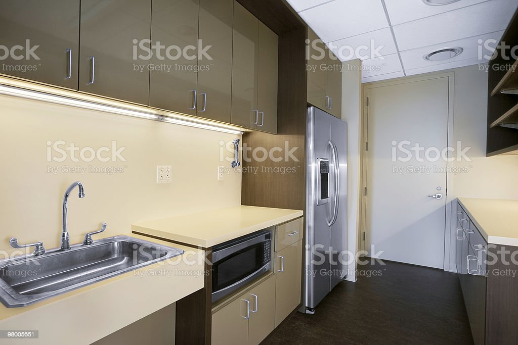 Office Kitchen royalty-free stock photo