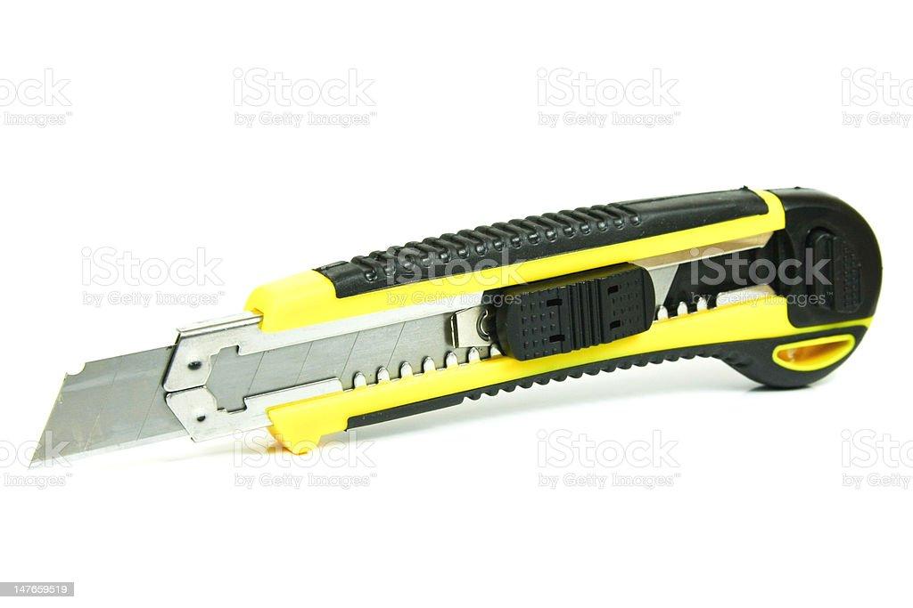 Office knife stock photo