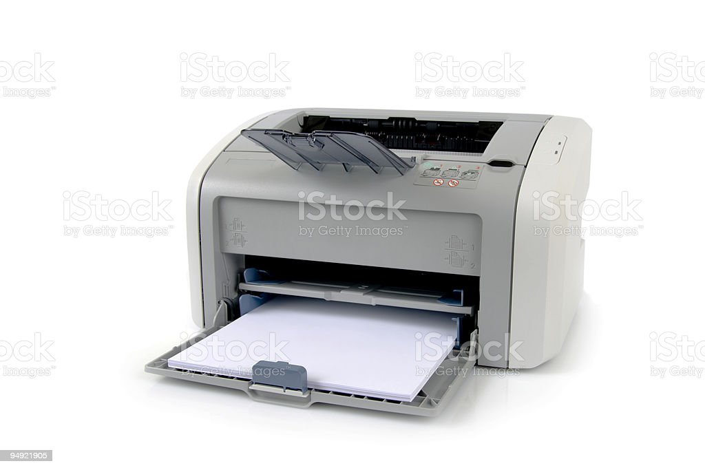 office laser printer royalty-free stock photo