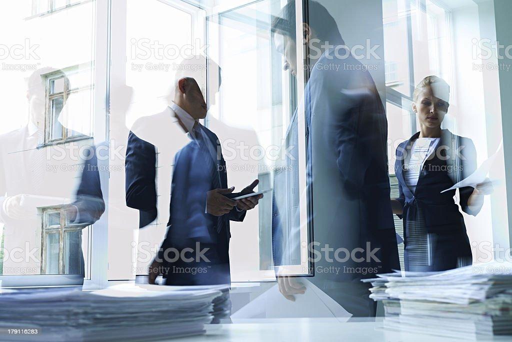 Office life royalty-free stock photo