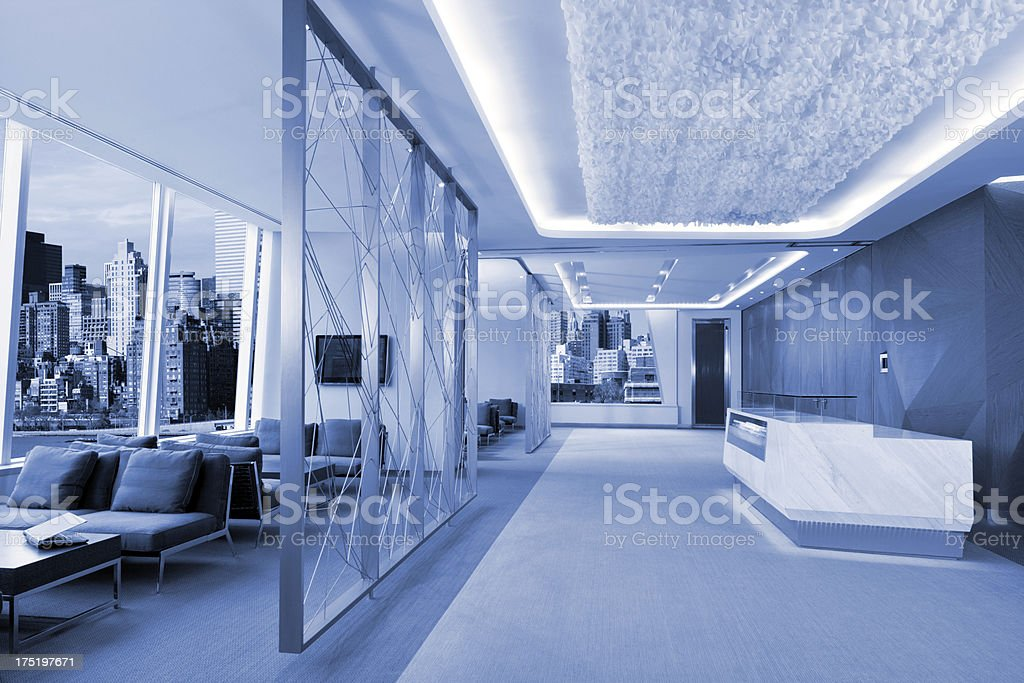 Office Lobby royalty-free stock photo