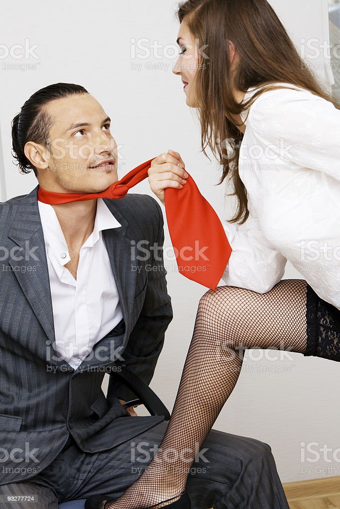Office love royalty-free stock photo