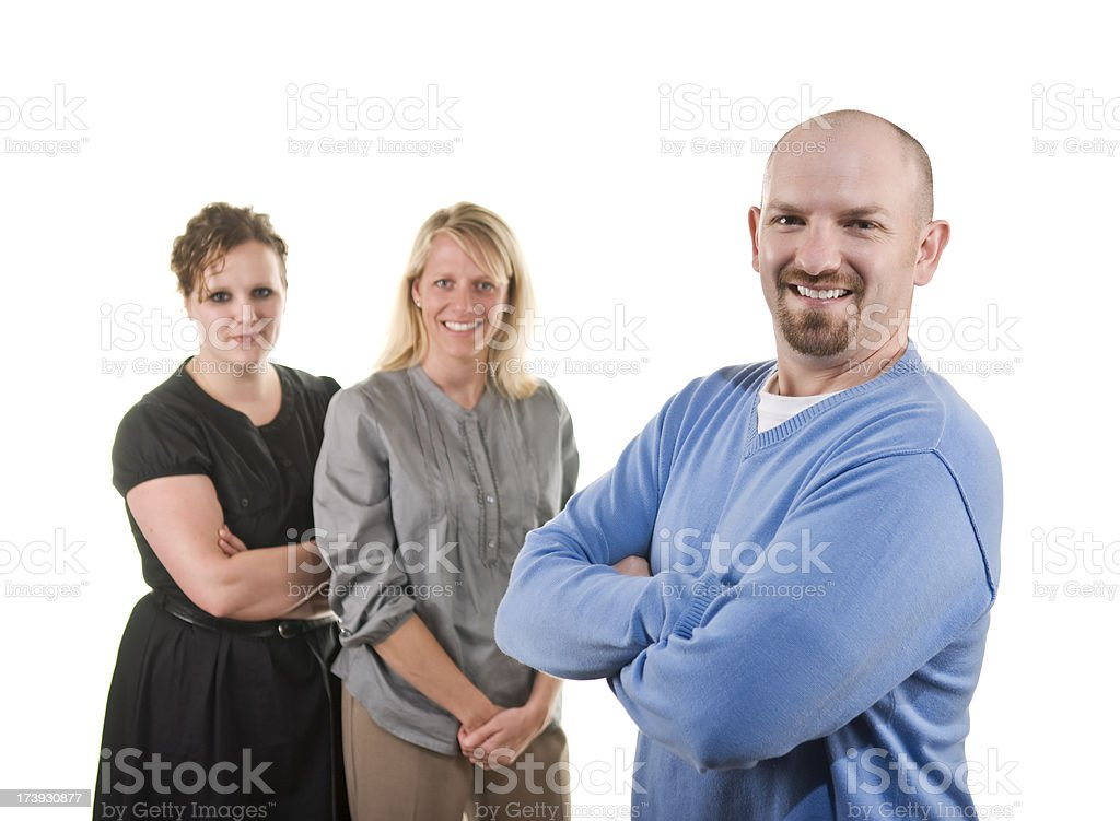 Office mates stock photo