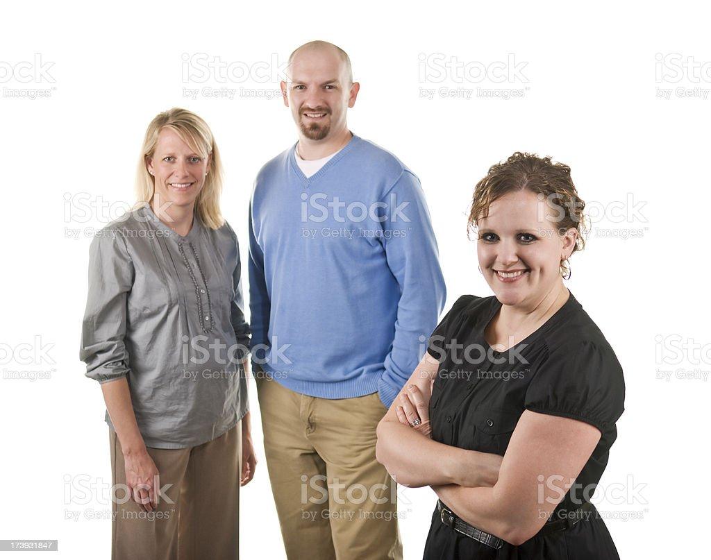 Office mates royalty-free stock photo