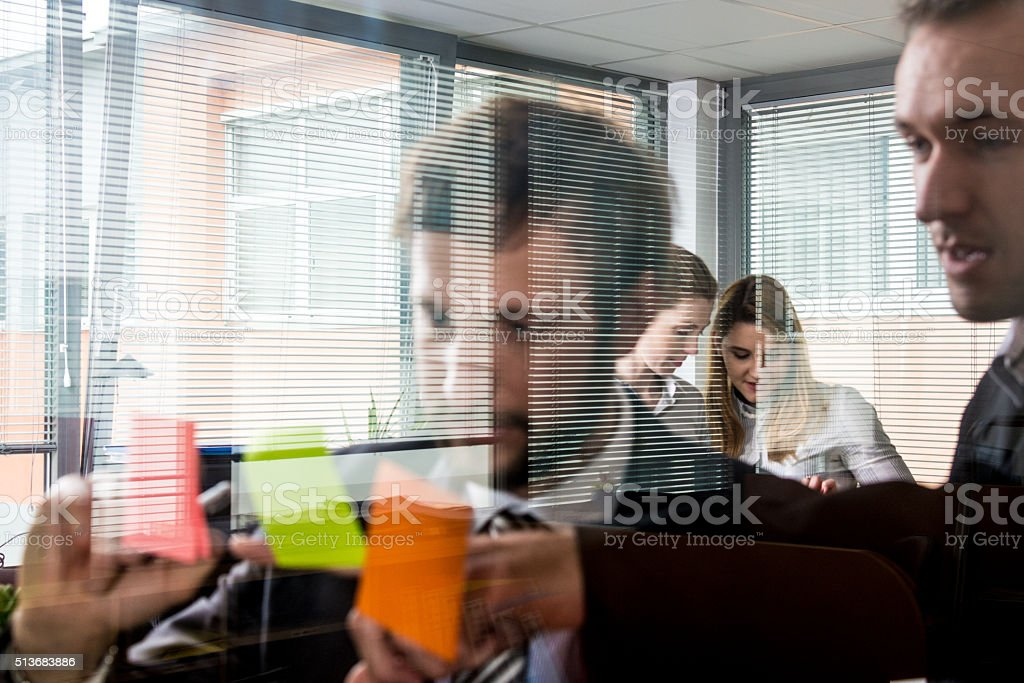 Office meeting stock photo