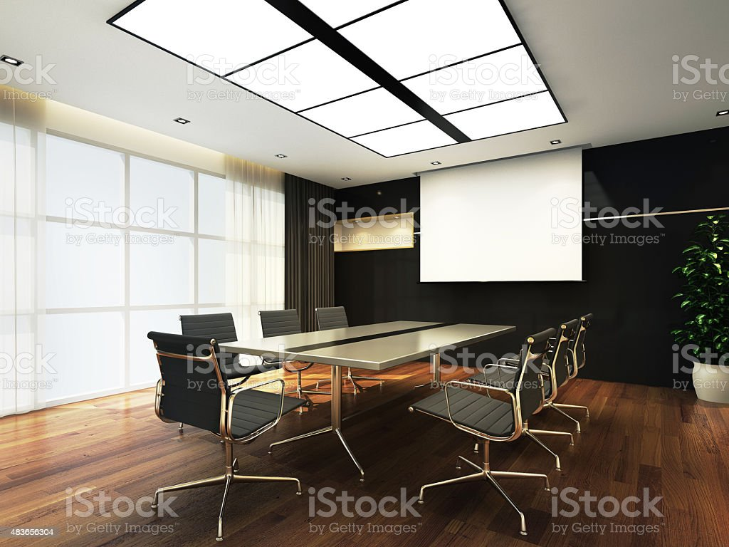 Office meeting room stock photo