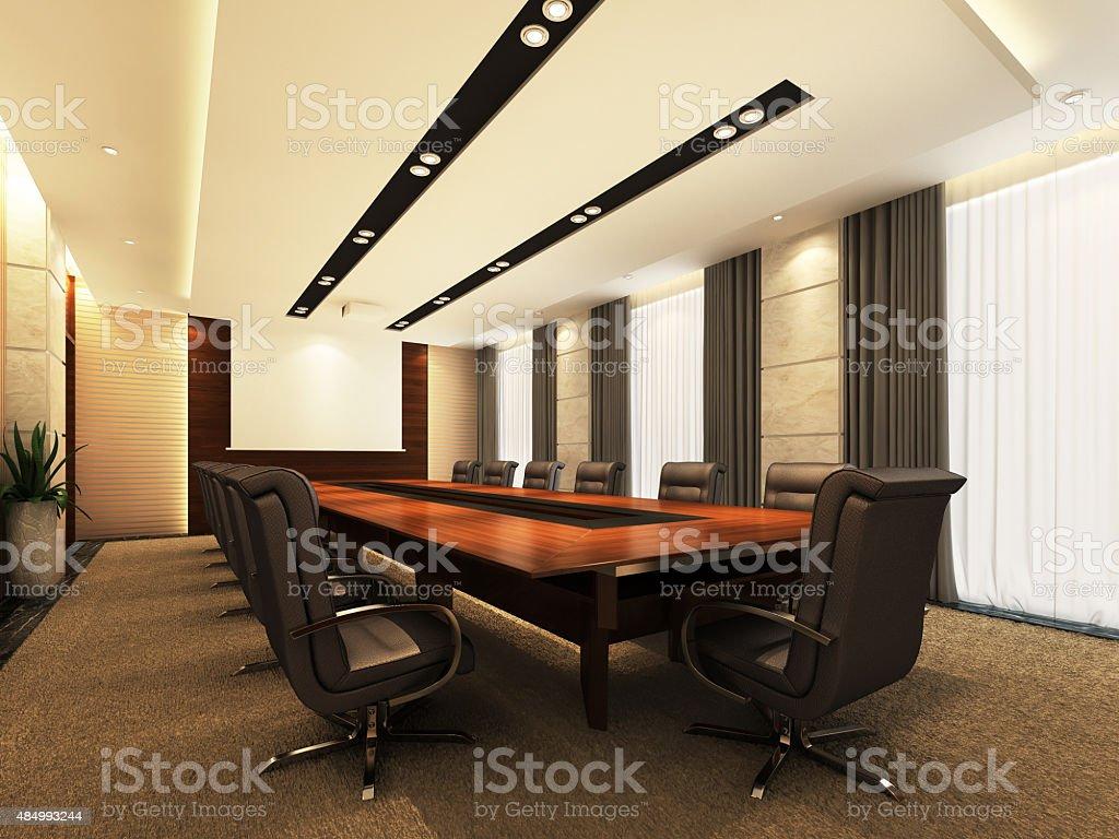 Office meeting room stock photo