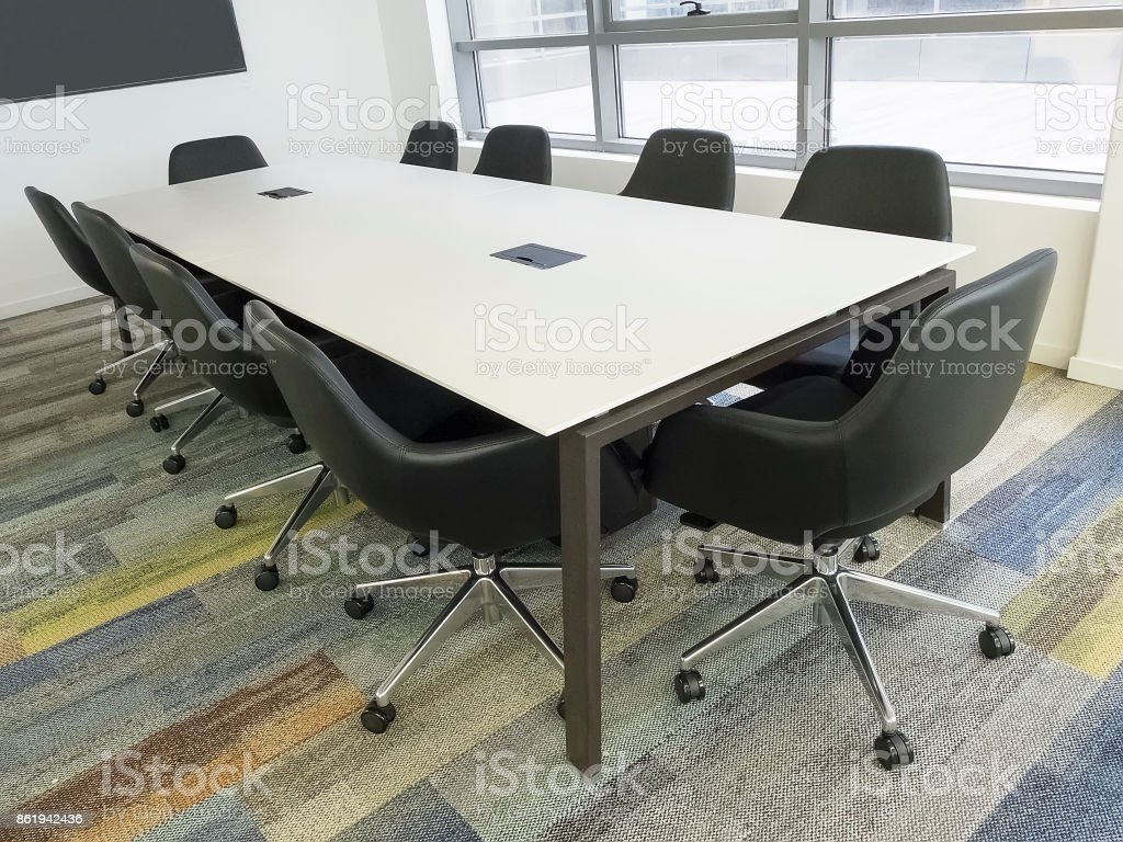Office Meeting Room Stock Photo - Download Image Now