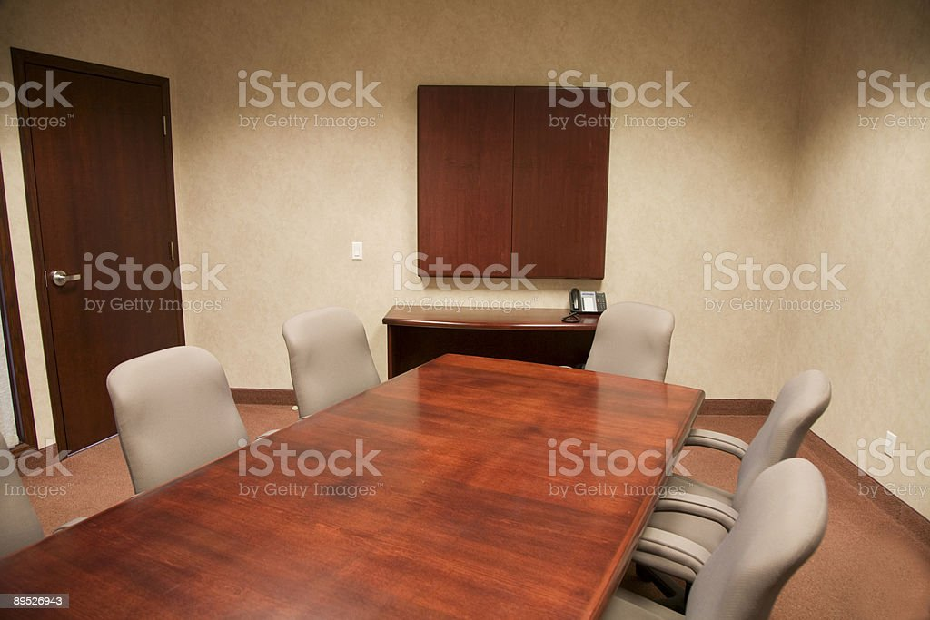 Office Meeting Room royalty-free stock photo