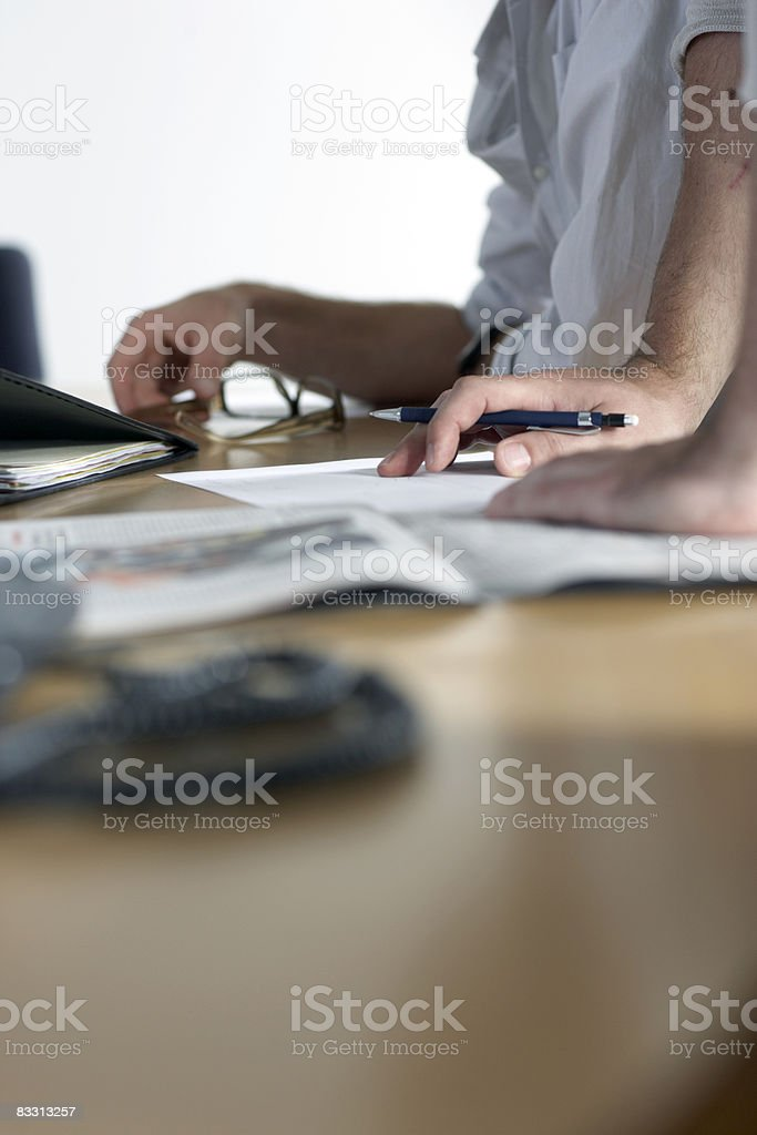 office meeting table top royalty free stockfoto