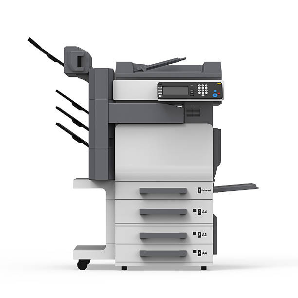 bureau multifonctions imprimante - photocopieuse photos et images de collection