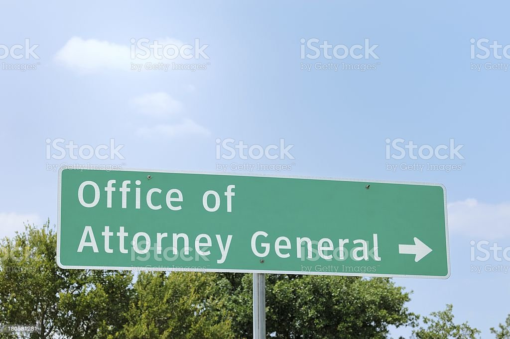 Office of Attorney General stock photo