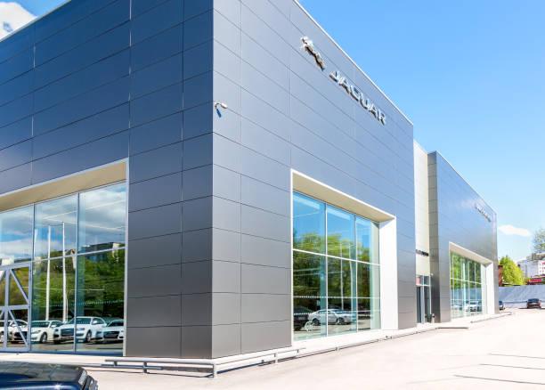 Büro des offiziellen Händlers Jaguar, Land Rover – Foto