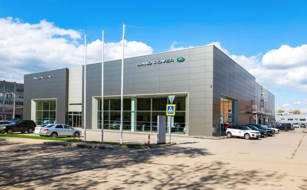 Büro der Vertragshändler Jaguar, Land Rover – Foto
