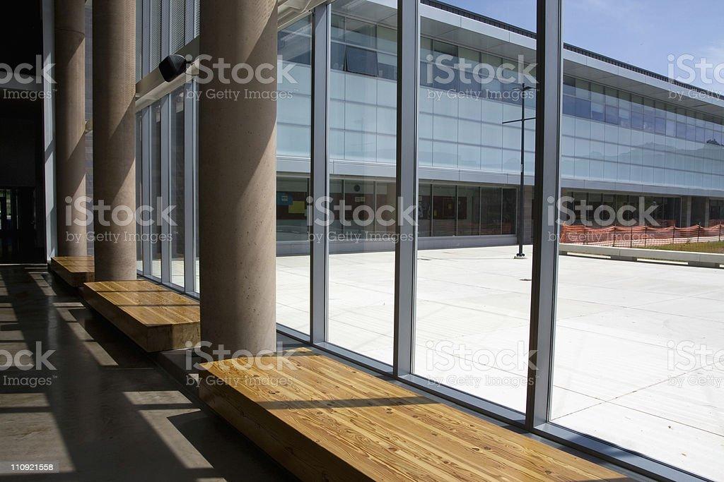 Office Park - Lobby royalty-free stock photo