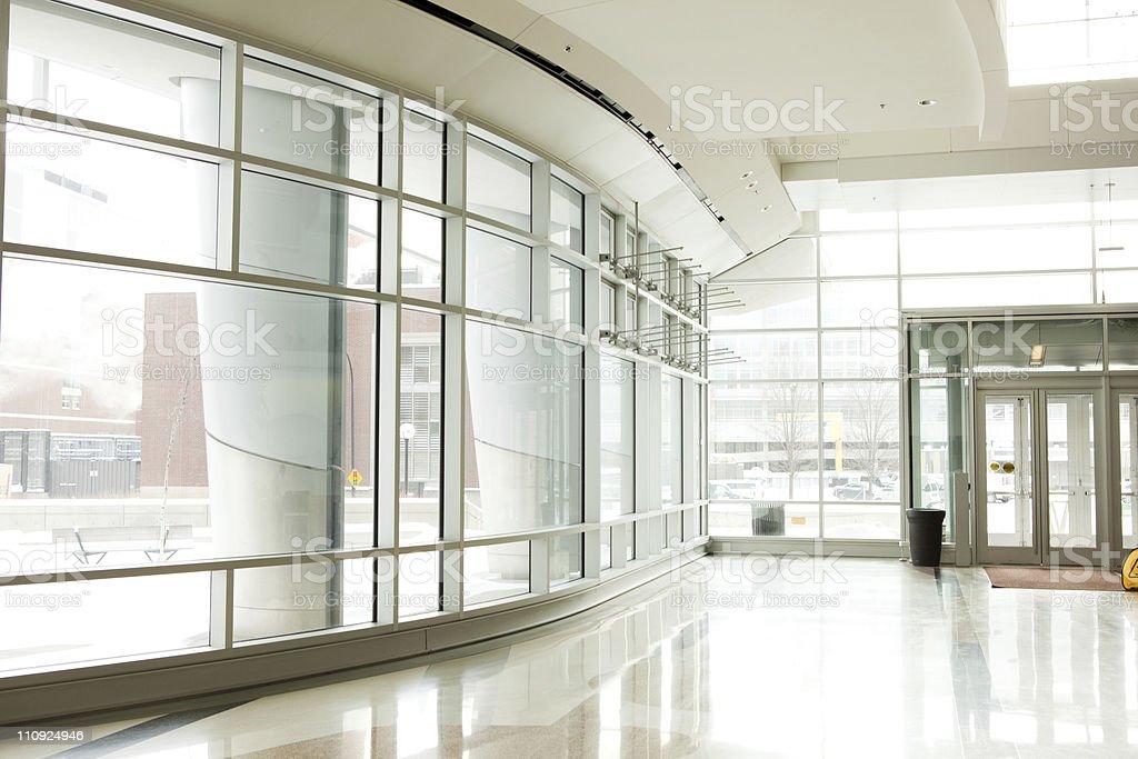 Office Park - Lobby stock photo