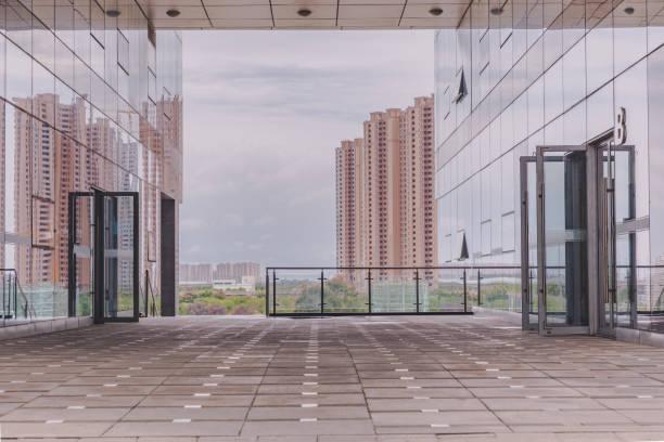 Office Park de arquitectura moderna - foto de stock