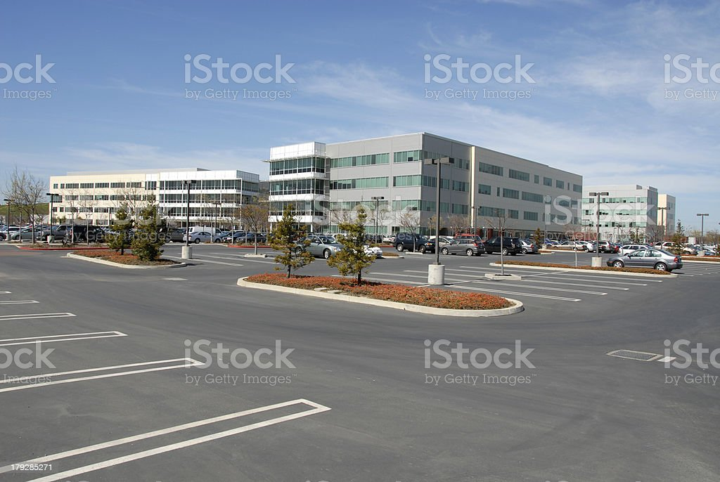 Office park royalty-free stock photo