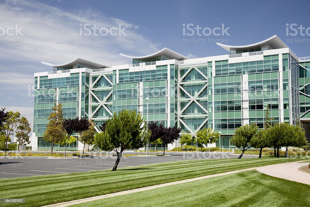 Office Park stock photo