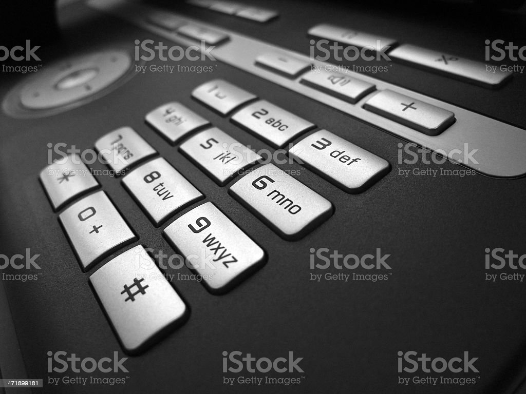 Office Phone royalty-free stock photo